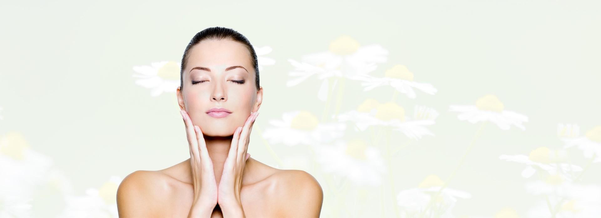 El cuidado de la piel con cosméticos naturales