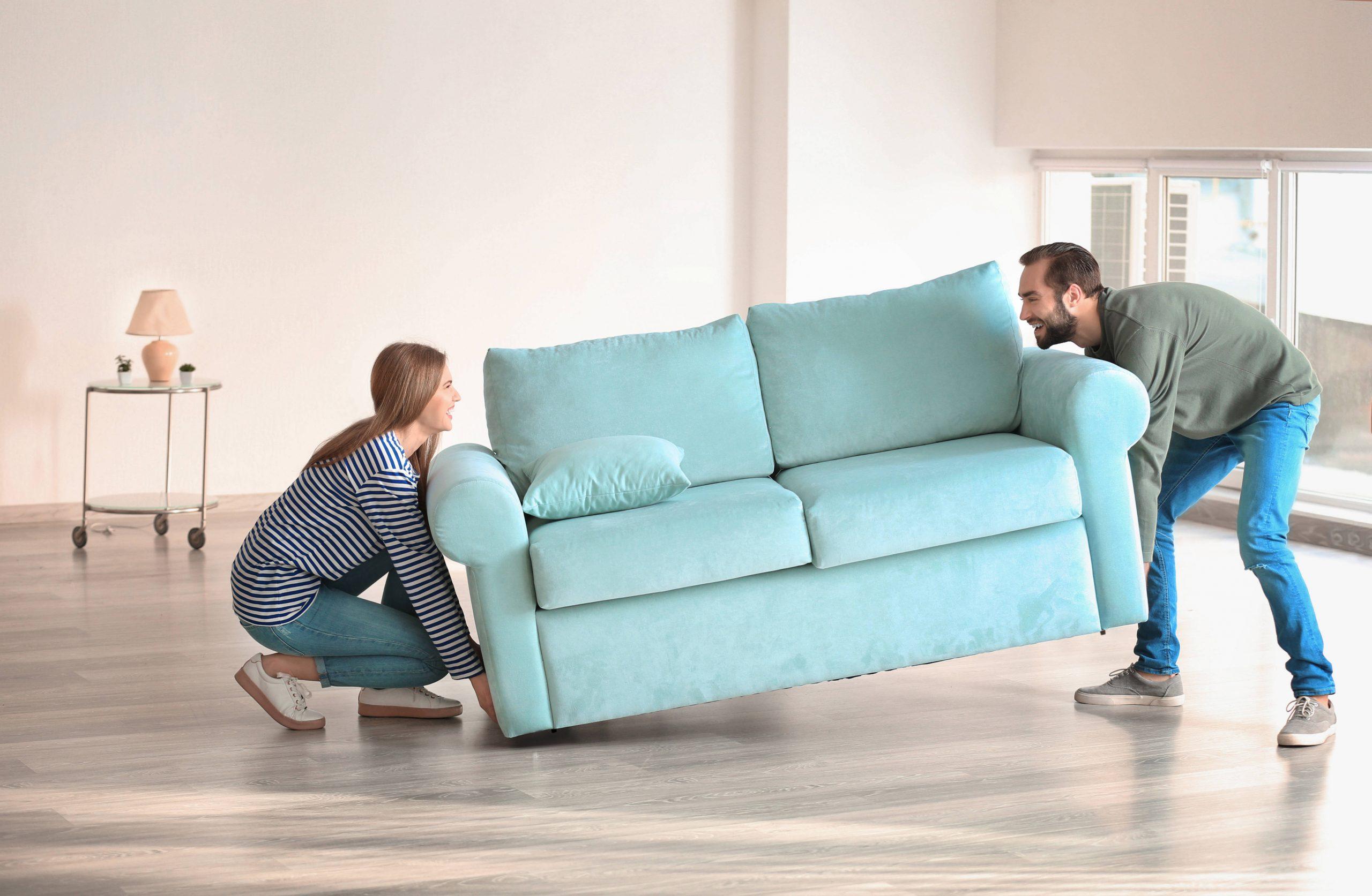 Si te mudas de casa no dejes de lado los muebles de tu hogar