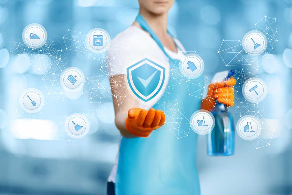 Las empresas de limpieza, adaptadas ya al entorno digital